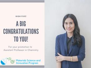 Congratulations Dr. Kotchaphan Kanjana