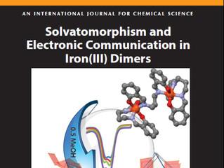 Front Cover in Australian Journal of Chemistry