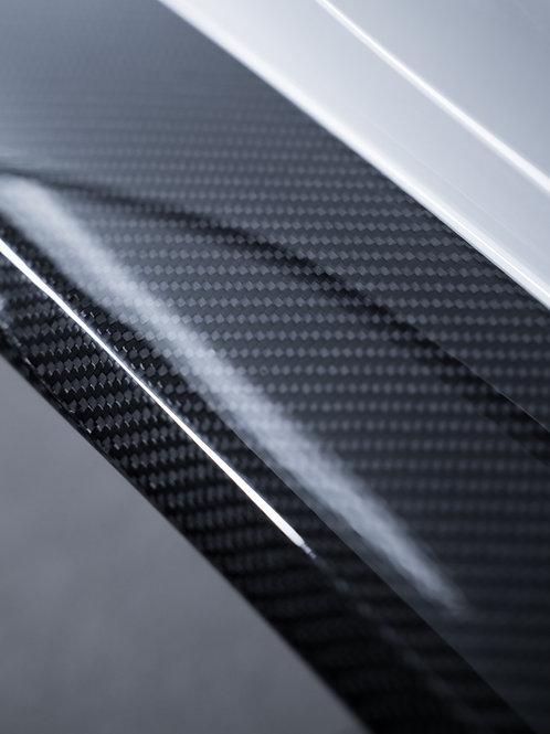 C8 Carbon Fiber Side Skirts R/L