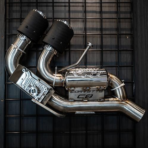 FABSPEED C8 Corvette  Valvetronic Maxflo Exhaust System