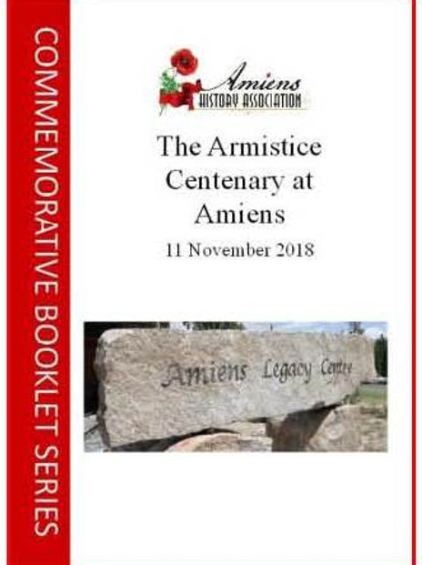 The Armistice Centenary at Amiens