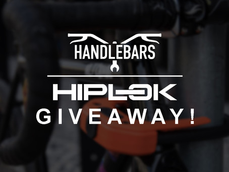 giveaway! protect your bike with hiplok