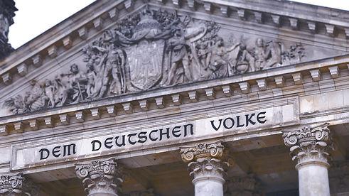 Reichstag.%20Facade%20Deutscher%20Bundestag.%20The%20upper%20part%2C%20the%20roof%20of%20the%20Germa