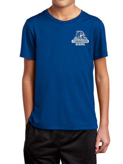 Youth Athletic Moisture Wick T