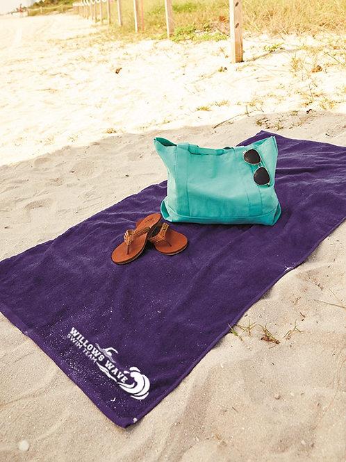 Team Velour Beach Towel