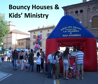 Bouncy Houses & Kids' Ministry