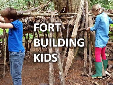 Fort Building Kids