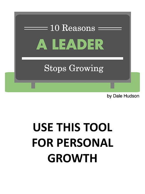 10 Ways a Leader Stops Growing
