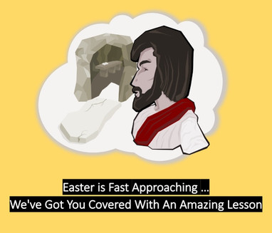 Easter is Fast Approaching...We've Got You Covered with An Amazing Lesson