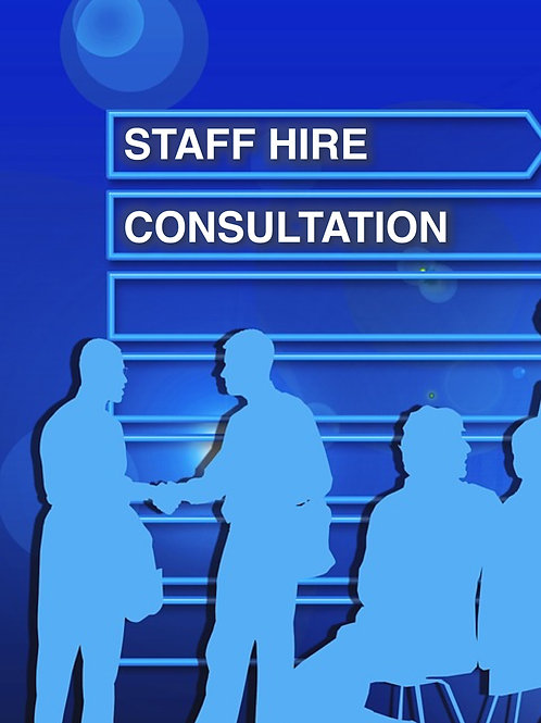 Staff Hire Consultation
