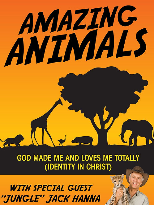 Amazing Animals with Jack Hanna (identity in Christ series)