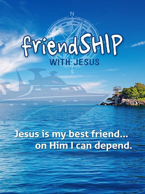 friendSHIP with Jesus (spiritual disciplines series)
