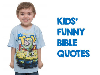 Kids' Funny Bible Quotes