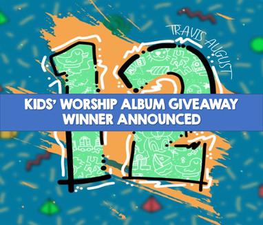 Kids' Worship Album Winner Announced