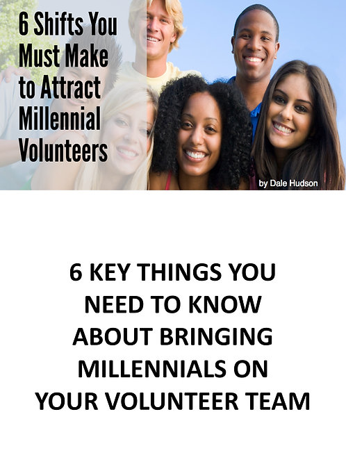 6 Shfits You Must Make to Attract Millennial Volunteers
