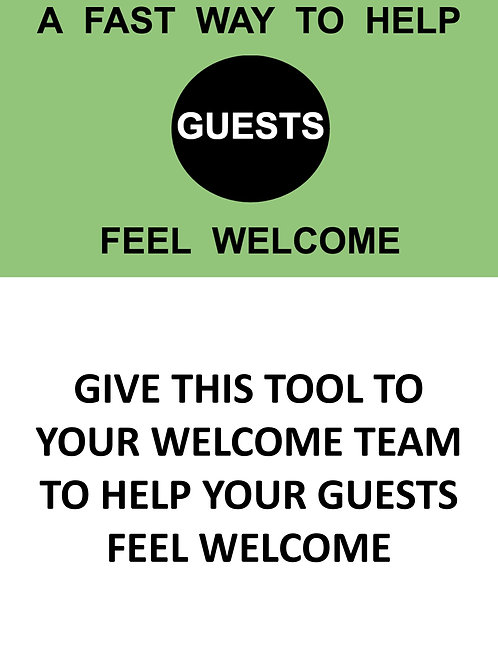 A FAST Way to Make Guests Feel Welcome