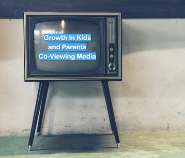 Growth In Kids and Parents        Co-Viewing Media