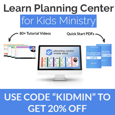 Learn Planning Center for Kid's Ministry