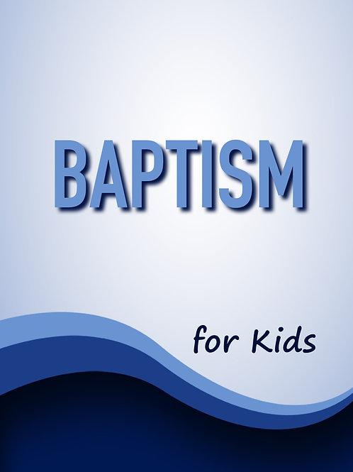 Baptism for Kids