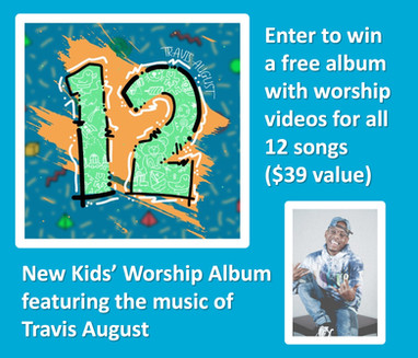 Free Giveaway - New Worship Album for Kids