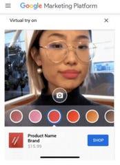 Virtual Makeup on Youtube?