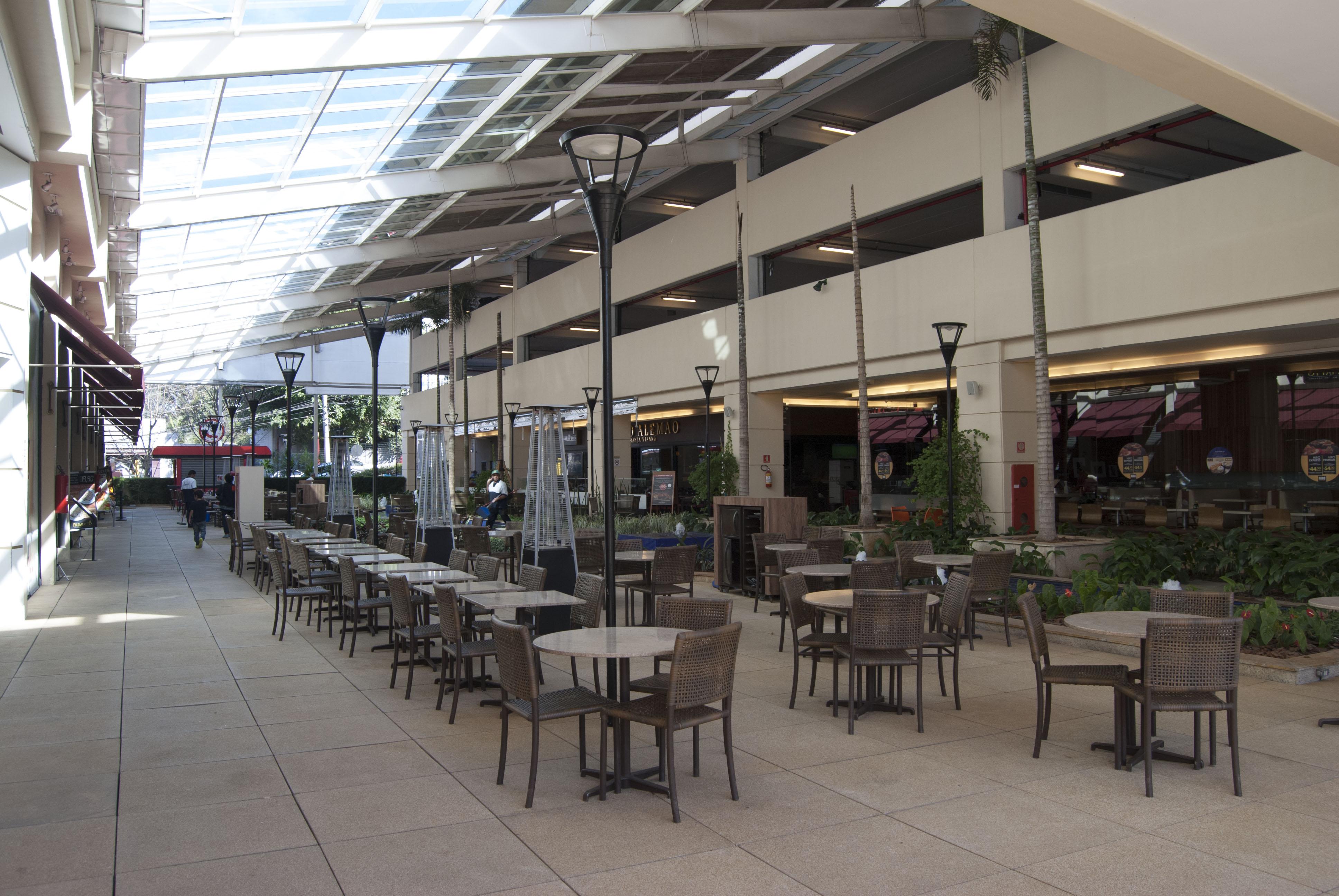 Praça de alimentação