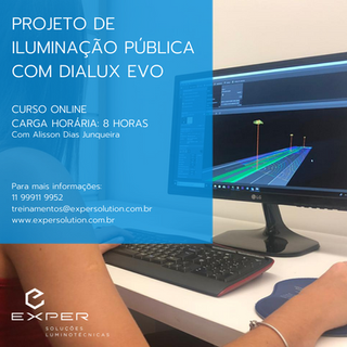 PUBLIC LIGHTING PROJECT WITH DIALUX