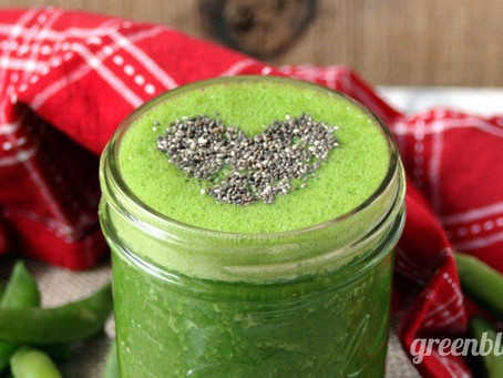PEA & SPINACH SMOOTHIE
