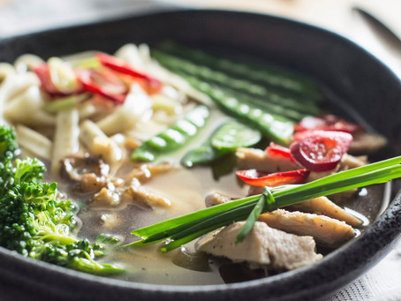 TOM KHA GAI RECIPE by Chef Olivier Sanchez