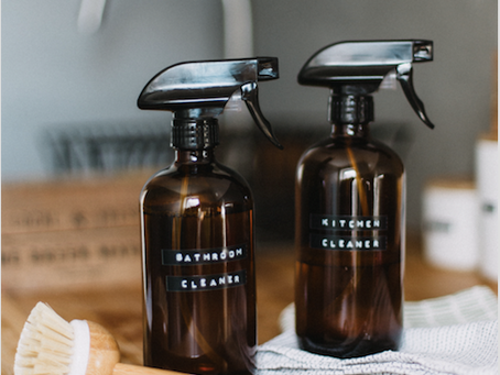 NATURAL HOMEMADE ALL-PURPOSE CLEANER RECIPE