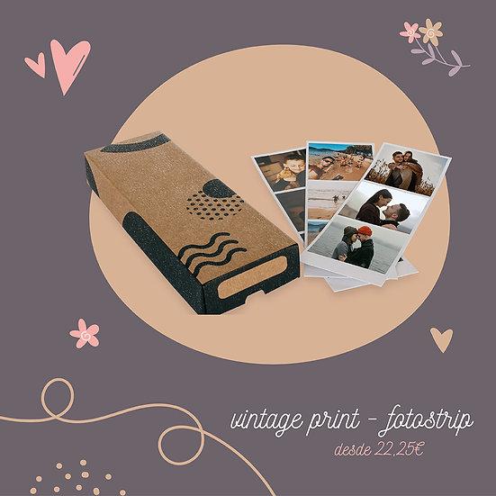 Impressões de Fotografias Fotostrip