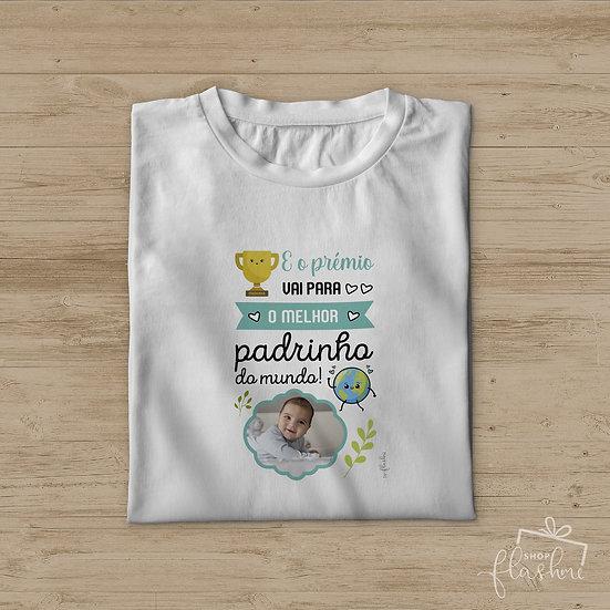 T-shirt - E o prémio vai para o melhor padrinho do mundo!