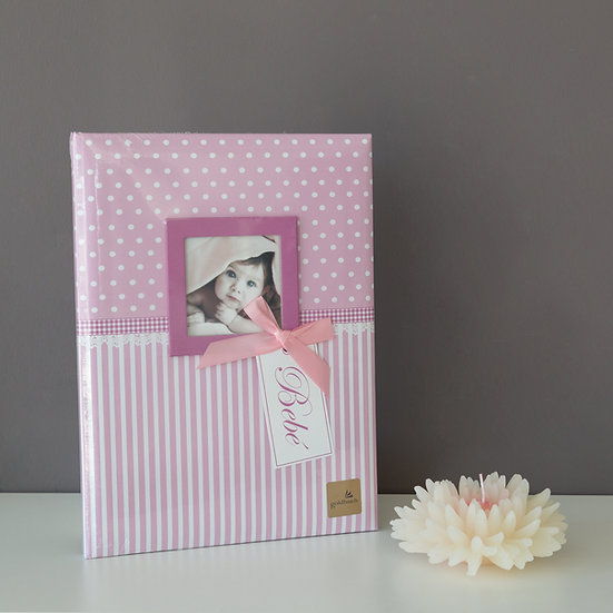 Baby Diary Sweetheart Pink