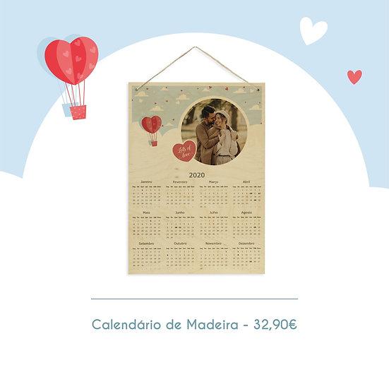 Calendário de Madeira