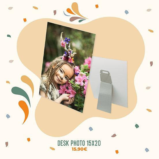 Desk Foto 15x20cm