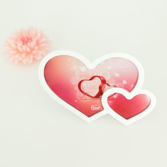 Moldura dupla coração