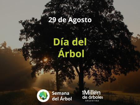 ¡Sumate a celebrar el Día del Árbol #PlantandoVida!