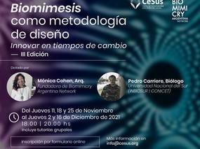 ¡Nueva edición del Curso Biomimesis como metodología de diseño: Innovar en tiempos de cambio!