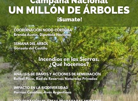 Córdoba se suma y pone en marcha una campaña de forestación masiva #ProvinciasEnAcción