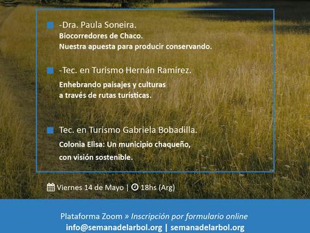 ¡Para agendar! Nuevo encuentro del ciclo Biocorredores y Turismo de Cercanía