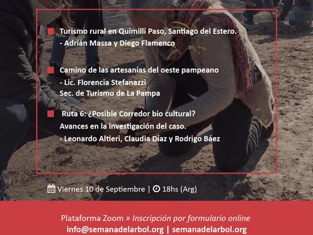 10 de septiembre: agendá el Ciclo de Biocorredores y Turismo de Cercanía