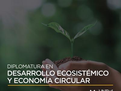 La UNRaf lanzó la tercera edición de la Diplomatura en Desarrollo Ecosistémico y Economía Circular