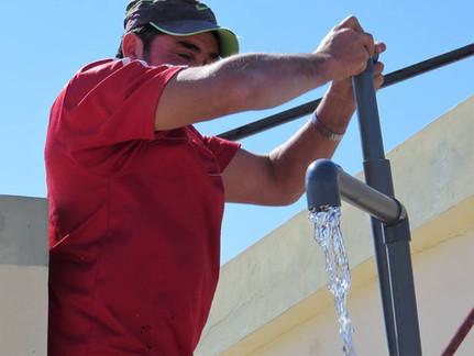 Three New safe water works in Santiago del Estero