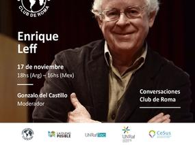 El 17 de noviembre, junto al Dr. Enrique Leff, celebramos el 2° encuentro del Ciclo Conversaciones