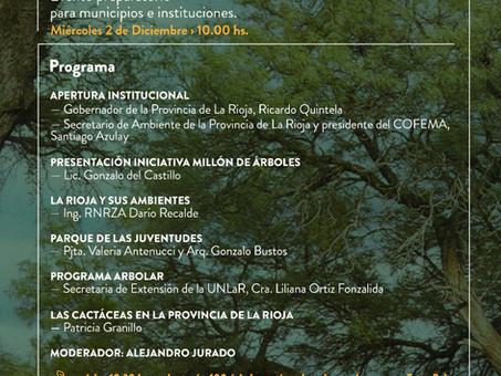 La Rioja celebra su primer encuentro preparatorio de la iniciativa #MillóndeÁrboles