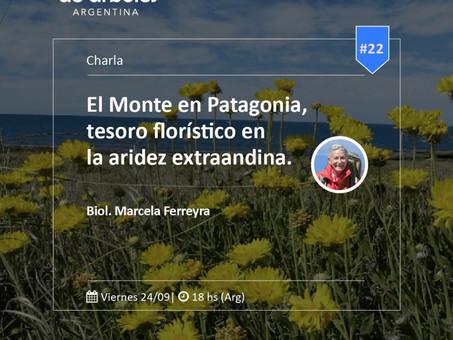 El Monte en Patagonia, no te pierdas este encuentro del Ciclo MillóndeÁrboles.