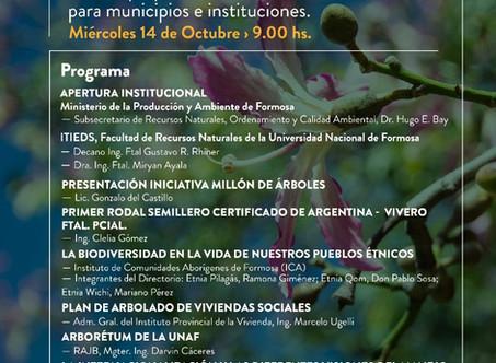 Formosa celebra su primer encuentro preparatorio de la campaña #MillónDeÁrboles