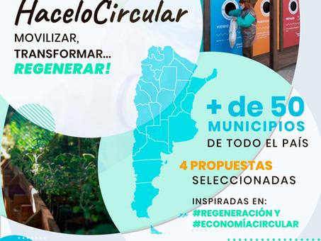 Conocé las propuestas ganadoras del  desafío #HaceloCircular