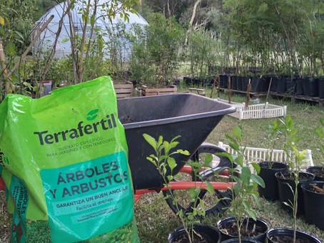 ¡Gracias Terrafertil por la donación de tierra y sustrato!