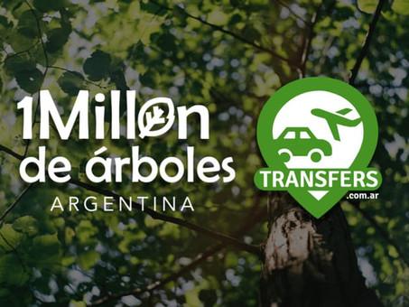 La empresa santafecina Transfers se suma a la campaña Millón de Árboles